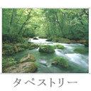 新緑の渓流 120×90cm TA-94 タペストリー 壁掛け