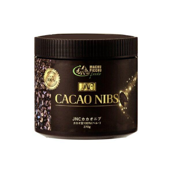 JNC カカオニブ 270g x 2個セットCACAO NIBSカカオ豆100% ポリフェノールがとても豊富