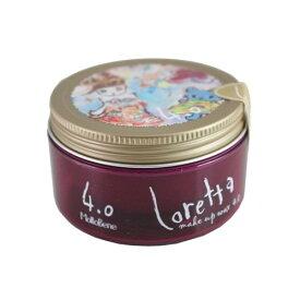 ロレッタ メイクアップワックス 4.0 65gヘアスタイリング剤 スタイリング ヘアワックス ヘアセット ほどよいキープ力 ナチュラルアロマローズの香り