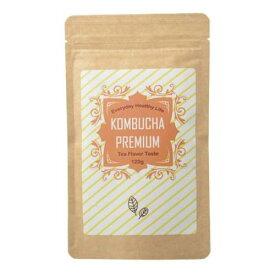 コンブチャプレミアム(KOMBUCHA PREMIUM)コンブチャ 紅茶 紅茶キノコ 紅茶 ドリンク 乳酸菌 酵母 食物繊維 スリム こんぶ茶 お茶 ストレートティー 健康