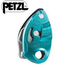 PETZL ペツル Grigri グリグリ D14BA (色:ブルー) ディセンダー ディッセンダー [並行輸入品]