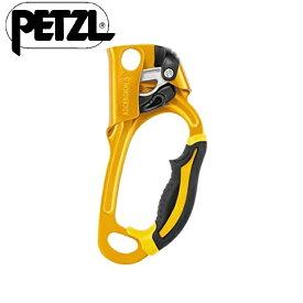 PETZL ペツル Ascension Ascender アッセンション アッセンダー B17ARA R [並行輸入品] 右手用 Right hand (gold/black)