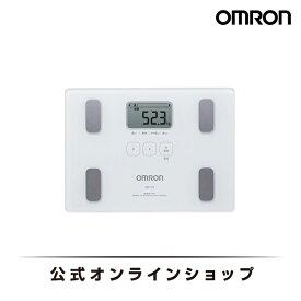 オムロン 公式 体重体組成計 体重計 デジタル 体脂肪率 ホワイト HBF-212 送料無料