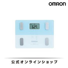 オムロン 公式 体重体組成計 体重計 デジタル 体脂肪率 ブルー HBF-225-B 期間限定 送料無料