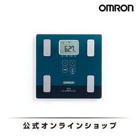 公式 体重体組成計 体重計 デジタル 体組成計 (体脂肪計) 体組成計 筋肉量 体組成計 オムロン 体脂肪率 グリーンー HBF-226-G 送料無料