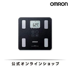 オムロン 公式 体重体組成計 体重計 デジタル 体脂肪率 HBF-227T-SBK シャイニーブラック Bluetooth通信対応 送料無料