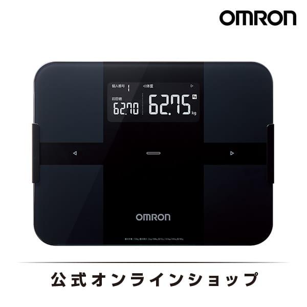 【週末限定 セール価格 】オムロン 公式 体重体組成計 体重計 デジタル 体脂肪率 ブラック HBF-256T-BK Bluetooth通信対応 送料無料