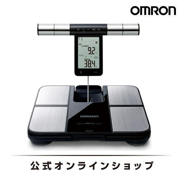 オムロン 公式 体重体組成計 カラダスキャン ブラック HBF-702T Bluetooth通信対応 送料無料