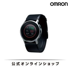 オムロン 公式 血圧計 ウェアラブル血圧計 HeartGuide HCR-6900T-M 活動量計 血圧 脈拍 歩数 睡眠トラッキング バイタルデータ Bluetooth iPhone android対応