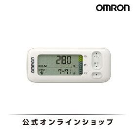 オムロン 公式 活動量計 ホワイト HJA-405T-W 送料無料