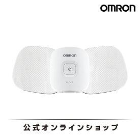 オムロン 公式 コードレス低周波治療器 HV-F601T マイクロカレント 筋疲労回復 送料無料