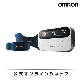 オムロン OMRON 公式 スポーツ用 低周波治療器 HV-F080 電気治療 筋肉痛 回復 器具 疲れ 太もも ふくらはぎ 足 筋肉 関節 ほぐす 筋肉疲労 治療 血行促進 クールダウン プロアスリート コンディション リカバリー リラックス 送料無料