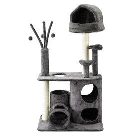 【送料無料(一部地域除く)!!】spice[スパイス] SPICE PAW-PAW キャットタワー ワイドタイプ HMLY4060 (ペットグッズ・PAWPAW/パウパウ・猫用品・猫遊び・猫用・キャットグッズ・爪とぎ・トンネル)