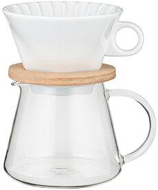 *【送料無料(一部地域除く)!!】AGCテクノグラス iwaki K9966-M コーヒーポット&ドリッパーセット600ml (コーヒーメーカー・キッチン用品・ガラス容器・耐熱・ガラス・インテリア・オシャレ)