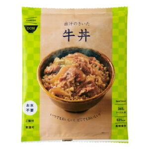 *【送料無料(一部地域除く)!!】杉田エース IZAMESHI[イザメシ] 出汁のきいた牛丼 18袋セット (防災用品・非常食・保存食・緊急・防災・非常時・災害・対策・家庭用・うるち米・アウトドア)