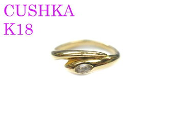 Beauty products CUSHKA cuska K18 ring ring-9 jewelry 0834 accessories yellow gold