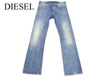 正规的DIESEL ZATINY伸展粗斜纹布牛仔裤柴油0717人