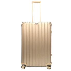 美品 リモワ トパーズ チタニウム 82L 4輪 スーツケース 92073034 キャリーバッグ チタン ゴールド 【中古】RIMOWA