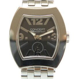 美品 ベダ&カンパニー コンセプトB3 クオーツ 腕時計 CB03 ブラック 黒文字盤 0014【中古】BEDAT&Co レディース