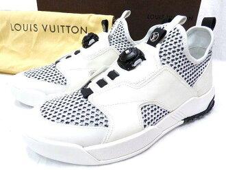 E unused 2016 models Louis Vuitton fuel power sneakers 0105 LOUIS VUITTON Damier white men 1 A1LNF