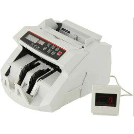マネーカウンター 操作パネル日本語表記 包装箱日本語表記 自動紙幣計数器 オリジナルカラー 日本語説明書付 お札カウンター ビルカウンター 子機付き 卓上用