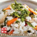 【訳あり食品】P1●菜の花入り 混ぜご飯の素 2合用 120グラム 2袋組  混ぜご飯 菜の花 きのこ 賞味期限短い アウトレ…