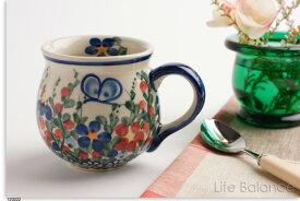ポーリッシュポタリー ポーランド陶器・ポーランド食器 VENA社 ヴェナマグカップ 小 (V337-A001)