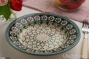 ポーリッシュポタリー ポーランド陶器・ポーランド食器 Ceramika Artystyczna WIZA社スープ皿 (W204-25A)