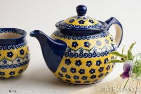 ポーリッシュポタリー ポーランド陶器・ポーランド食器 VENA社 ヴェナティーポット 大 (V333-U199)