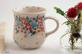ポーリッシュポタリー ポーランド陶器・ポーランド食器 VENA社 ヴェナマグカップ  (V053-U422)