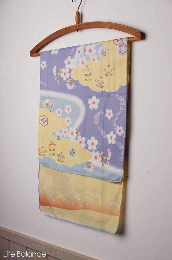 京都 くろちく 手ぬぐい 両面ガーゼてぬぐい 桜花 41211812