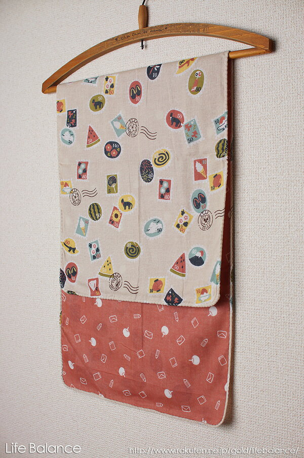京都 くろちく 手ぬぐい 両面ガーゼてぬぐい 夏切手 41402804
