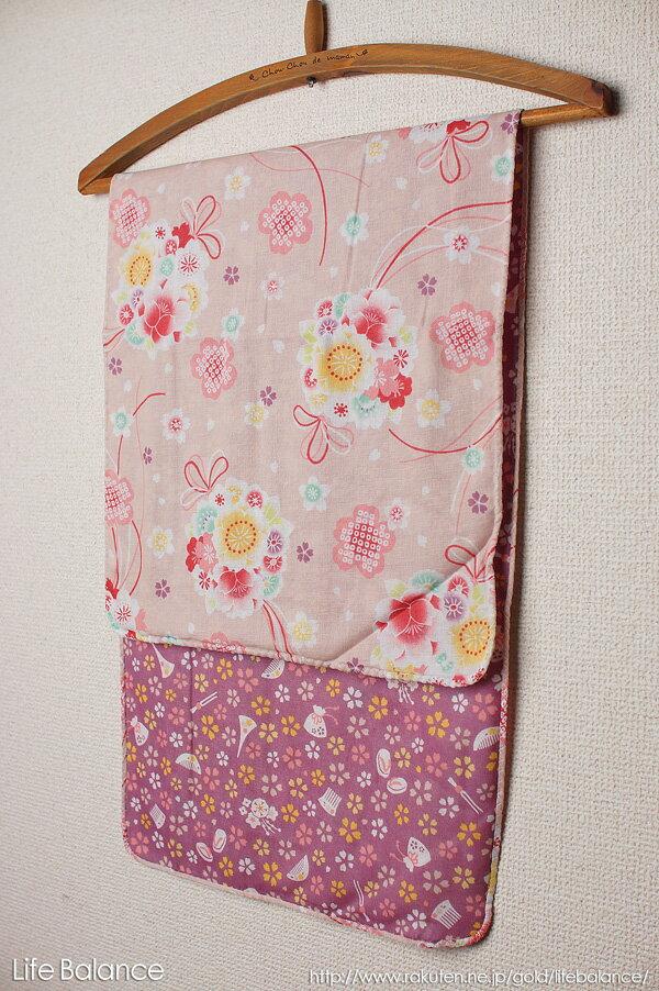 京都 くろちく 手ぬぐい両面ガーゼてぬぐい 桜薬玉 41509901