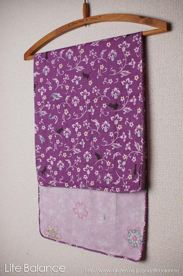 京都 くろちく 手ぬぐい 両面ガーゼてぬぐい 猫と更紗華紋 41606903