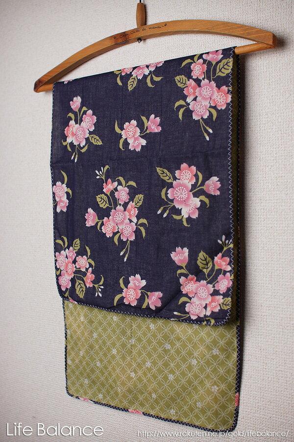 京都 くろちく 手ぬぐい 両面ガーゼてぬぐい 夜桜 41609902