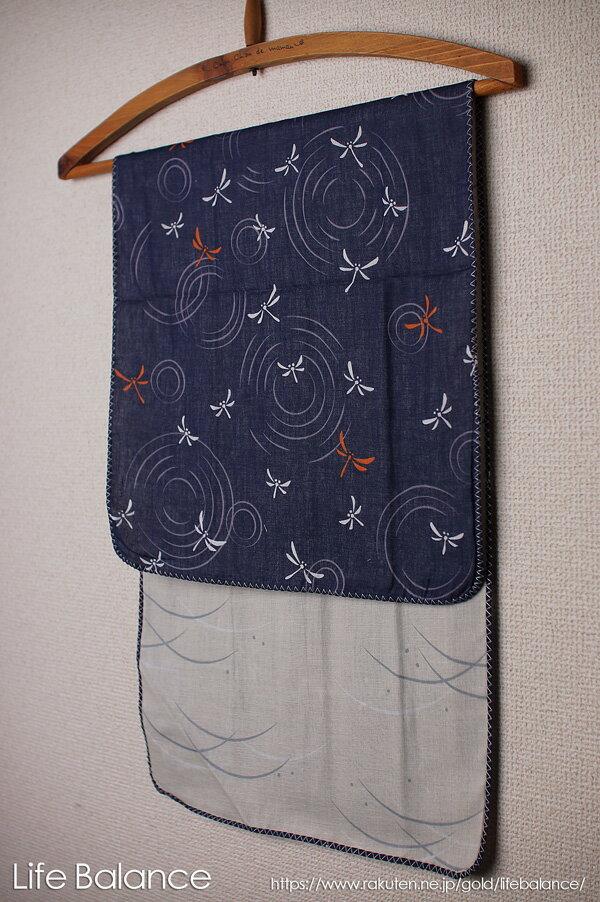 京都 くろちく 手ぬぐい 両面ガーゼてぬぐい トンボと露芝 41702804