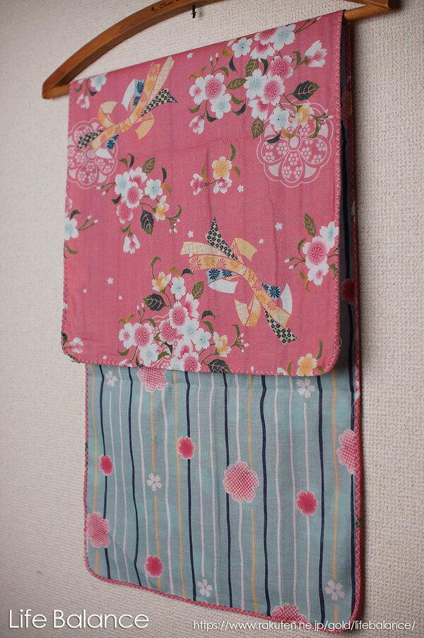 京都 くろちく 手ぬぐい 両面ガーゼてぬぐい 桜咲く 41711901