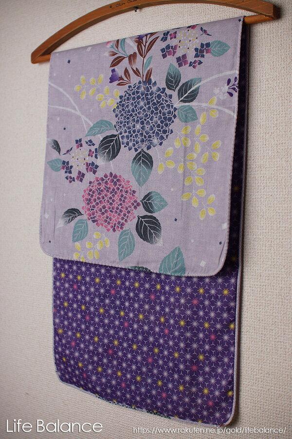 京都 くろちく 手ぬぐい 両面ガーゼてぬぐい 紫陽花 41711904