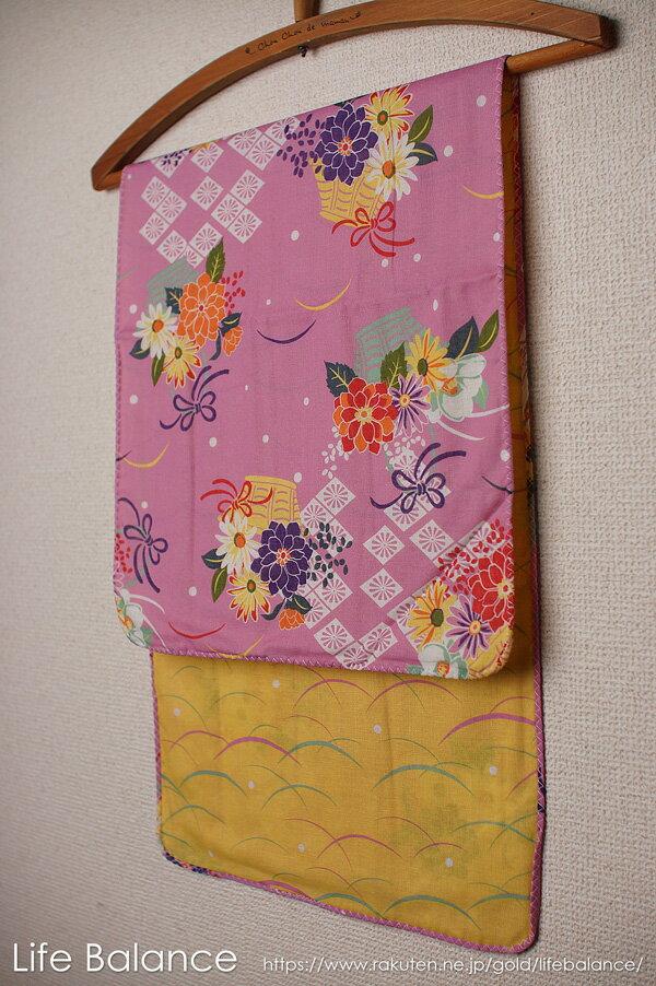 京都 くろちく 手ぬぐい 両面ガーゼてぬぐい 花かご 41702902