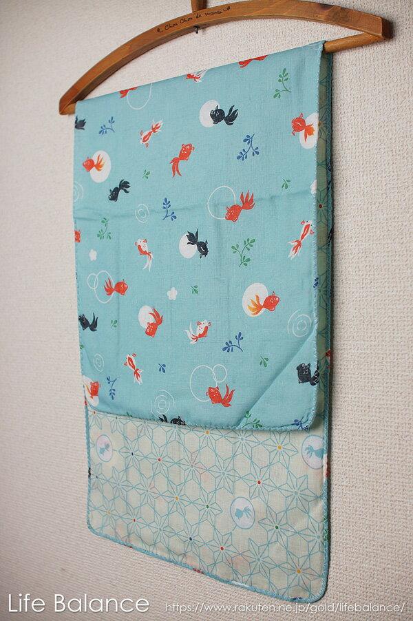 京都 くろちく 手ぬぐい 両面ガーゼてぬぐい 夢見金魚 41802703