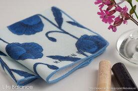 66cfedd9e3fdb5 ハンカチ タオル ガーゼ パイルMaison Blanche メゾン ブランシュ Pile towelリール ブルー 41015702