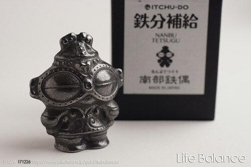 南部鉄器 壱鋳堂 鉄分補給 南部鉄偶(なんぶてつぐう) NANBU TETSUGU
