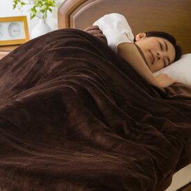 テイジン マイティトップII ECO使用 あったか フランネル 毛布 4層構造 2枚合わせ 蓄熱アルミシート入り 防ダニ 抗菌・防臭 ダブル