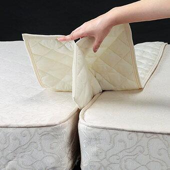 京都西川 隙間 パッド ベッド すきまパッド すきまスペーサー 隙間用パッド