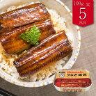 浜名湖産うなぎ蒲焼缶詰100g(固形量90g)×5缶