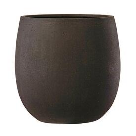 植木鉢 ファイバー製 おしゃれ 軽量 テラニアス 55cm バルーン アンティークブラウン 大型