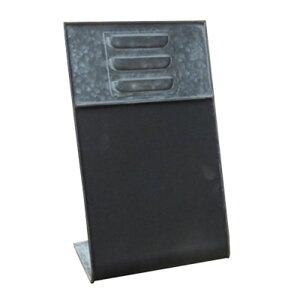 ブリキ製 ウーノ メッセージプレート 32×19×13 2個入