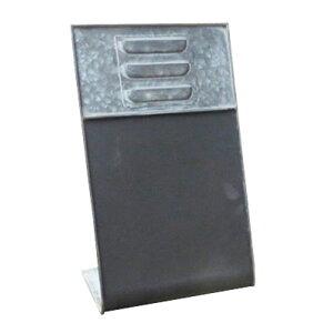 ブリキ製 ウーノ メッセージプレート 38×24×15