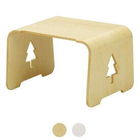 キッズ用 木製テーブル もりのつくえ 天然木のナチュラルな質感