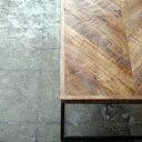 ローテーブル 無垢材 センターテーブル コーヒーテーブル インダストリアル家具 アイアン Sサイズ
